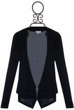 Splendid Girls Cardigan in Black (10 & 14)