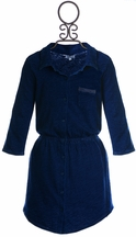 Splendid Girls Indigo Knit Dress