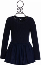 Splendid Tunic for Tweens in Navy Blue