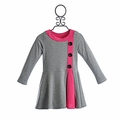 Stella Long Sleeve Dress for Girls Iona Gray