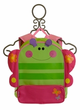 Stephen Joseph Girls Backpack with Butterfly