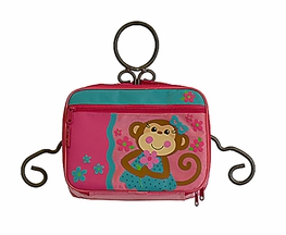 Stephen Joseph Girls Monkey Lunch Box