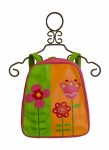 Stephen Joseph Go Go Backpack with Flowers