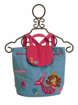 Stephen Joseph Mermaid Princess Backpack Quilted