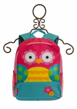 Stephen Joseph Pink Owl Backpack for Girls