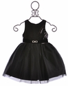 Susanne Lively Black Sequin Tulle Skirt Dress