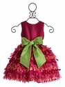 Susanne Lively Fuchsia Petal Party Dress for Girls