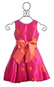 Susanne Lively Girls Party Dress Twirling Fuchsia