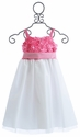Susanne Lively Rose Pink Soutache and Tulle Girls Dress