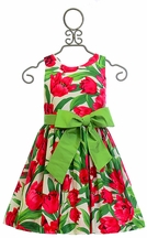 Susanne Lively Spring Dress Tulip Floral Print