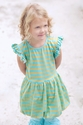 Swanky Baby Oh Hubba Bubble Dress in Lime Sherbet