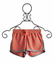 T2 Love Kids Mango Stripe Shorts (Size 12 & 14)