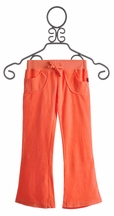T2 Love Kids Terry Pant in Mango (8,10,12,14)
