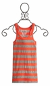 T2 Love Tween Tank Top Mango Stripe (Size 12 & 14)