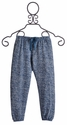 T2 Love Blue Designer Sweatpants for Girls