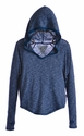 T2 Love Blue Long Sleeve Hooded Top