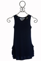 T2 Love Dress with Pockets in Blue