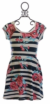 T2 Love Girls Summer Dress with Floral