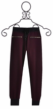 T2 Love Girls Sweatpants with Zipper Accents (8,12,14)