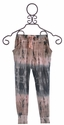 T2 Love Harem Pants for Girls Tie Dye Pink