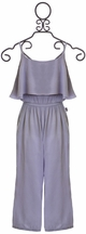 T2 Love Jumpsuit for Tweens in Gray
