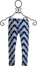 T2 Love Leggings Chevron Tie Dye