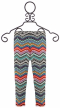 T2 Love Leggings in Chevron for Girls