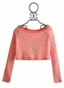 T2 Love Mango Girls Crop Top