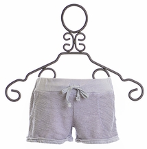 T2 Love Shorts for Girls Gray Knit