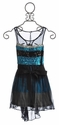 The Collection Blue Tween Party Dress with Sequins
