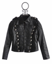 The Collection Tween Military Jacket Pleather