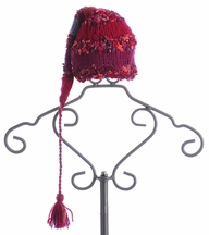 The Daisy Baby Infant Striped Crochet Hat with Long Tail Chandler