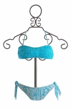 To The 9's Blue Bikini for Girls (Size 7)
