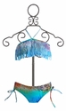 To the 9's Blue Ombre Fringe Girls Bikini