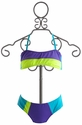 To The 9's Color Block Bandeau Tween Girls Bikini