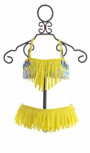To The 9's Tween Bikini Set in Fringed Tribal (7 & 14)