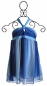 To The 9's Tween Blue Ombre Halter Cover Up (Size 12)