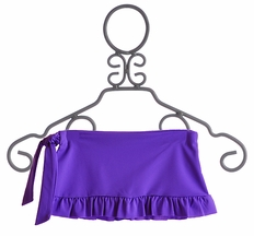 To The 9's Tween Wrap Cover Up Skirt in Purple (Size MD 10/12)