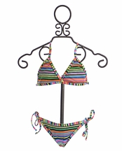 To The Nine's Bikini for Tweens in Stripes (10 & 14)