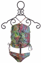 To The Nines Glitter Tankini Bathing Suit (7,8,10,12,14)