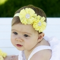Toe Blooms Miss Sunshine Yellow Headband