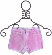 Tractr Denim Shorts in Pink (7,10,12,14)