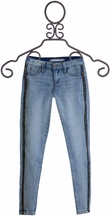 Tractr Jeans with Side Trim