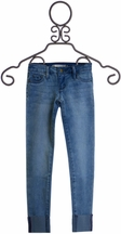 Tractr Raw Edge Jeans for Girls (10 & 14)