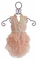 Trish Scully Special Occasion Dress for Girls in Pink