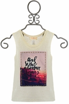 Tru Luv Adventure Begins Tank for Tweens (7,8,12,14)