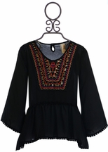 Tru Luv Boho Tunic for Tweens Scarlett (Size 8)