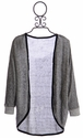 Tru Luv Gray Cardigan for Tweens