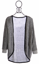 Tru Luv Gray Cardigan for Tweens (8 & 10)