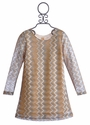 Tru Luv Shimmer ZigZag Girls Dress